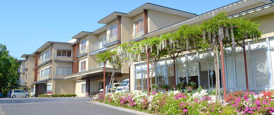 特別養護老人ホーム・つつじヶ丘の建物